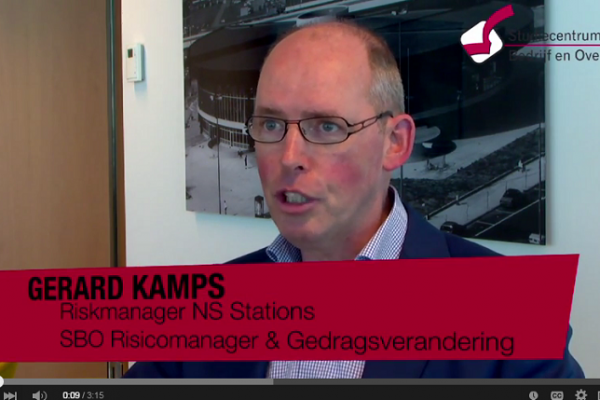 Gerard Kamps Riskmanager NS Stations